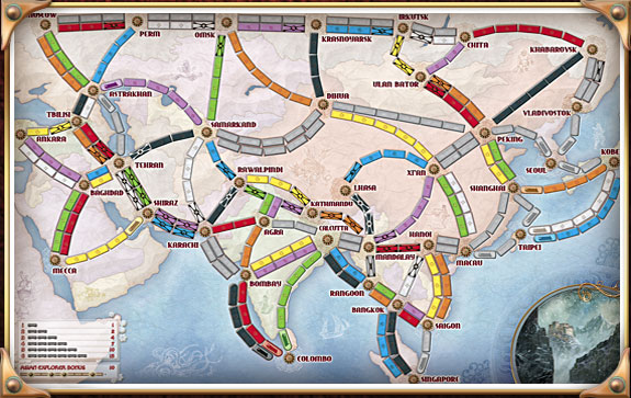 Ticket To Ride Asia Map.Steam Community Guide Becoming A True Rail Baron Ticket To Ride