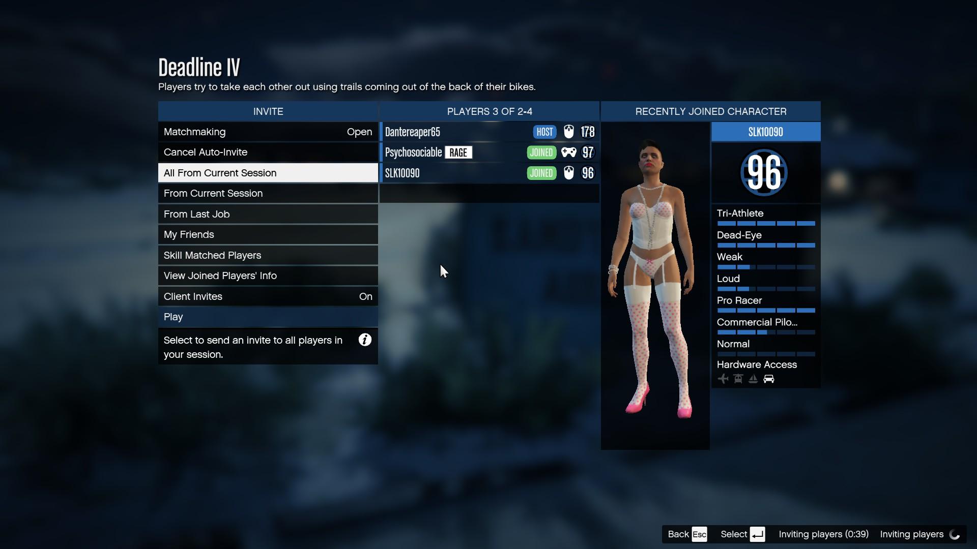 Grand Theft Auto matchmaking