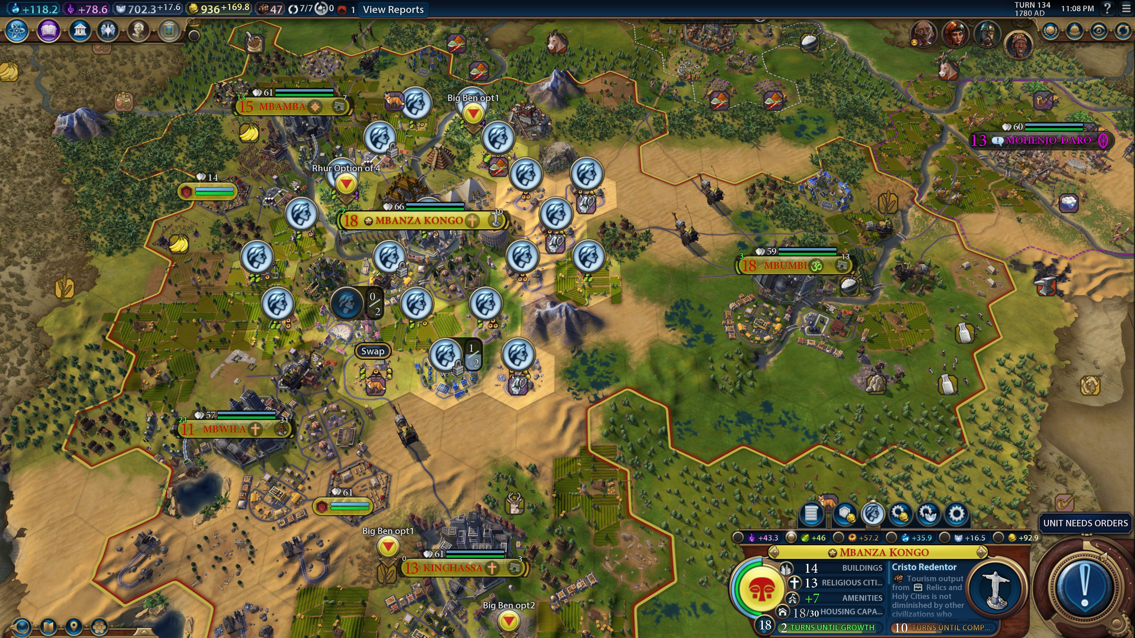 Civ 6 Holy City