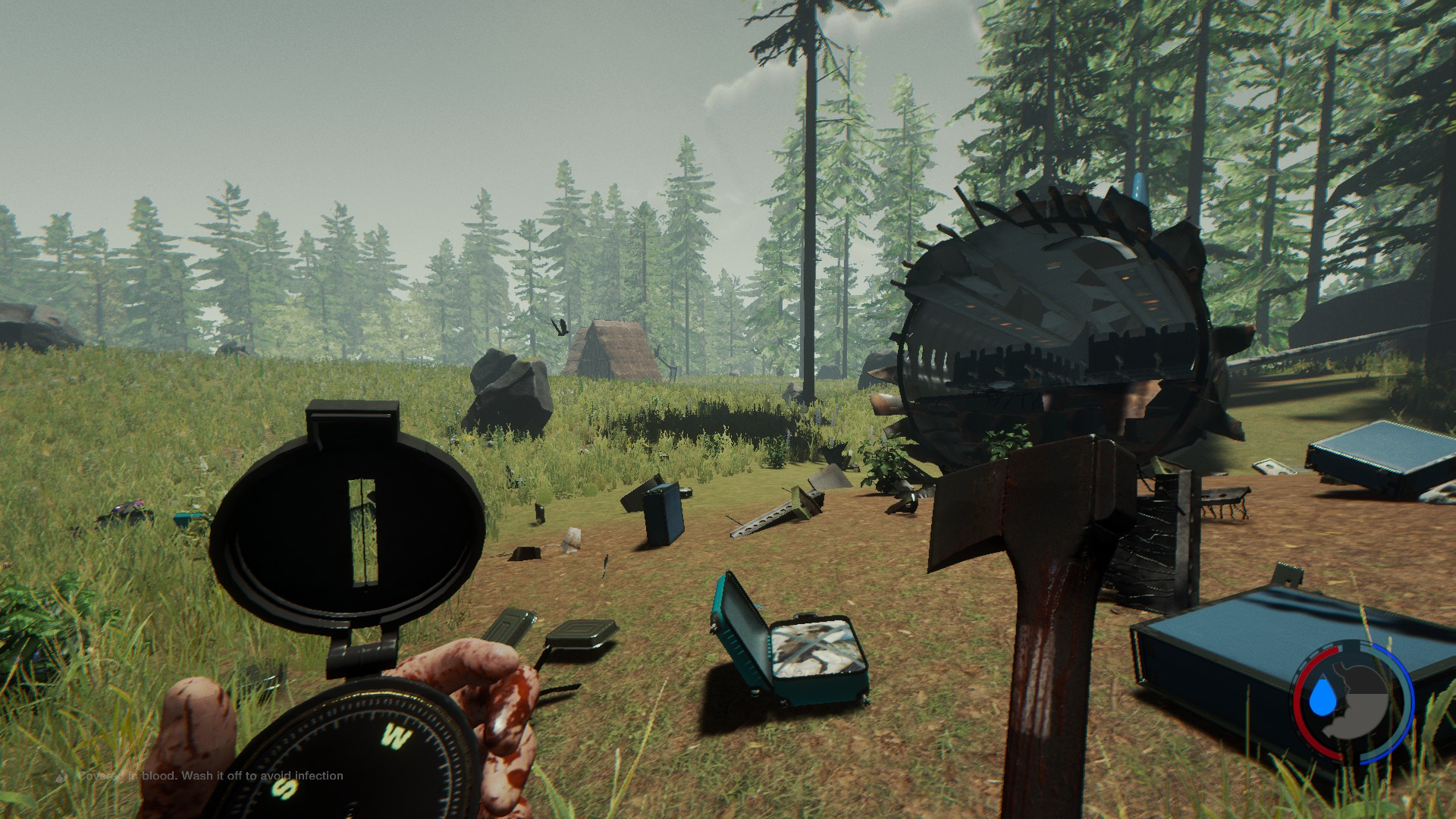 The Forest Cockpit Karte.Steam Community Guide Katana Location Updated For V0 52b 12