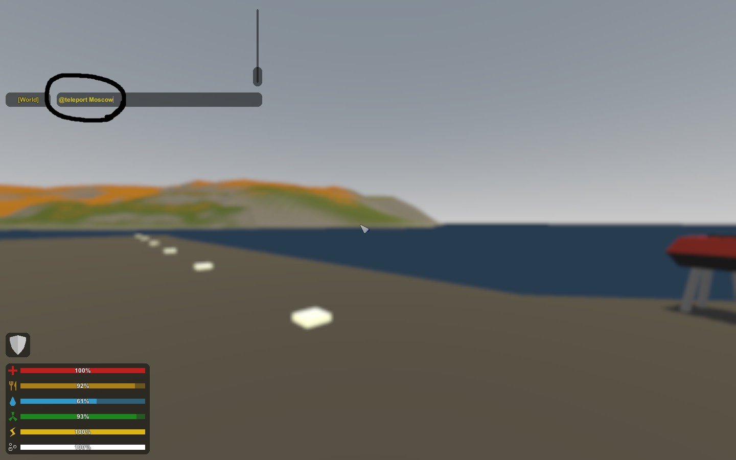 How to Teleport in Unturned to a Target