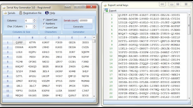 serial key generator software for any software