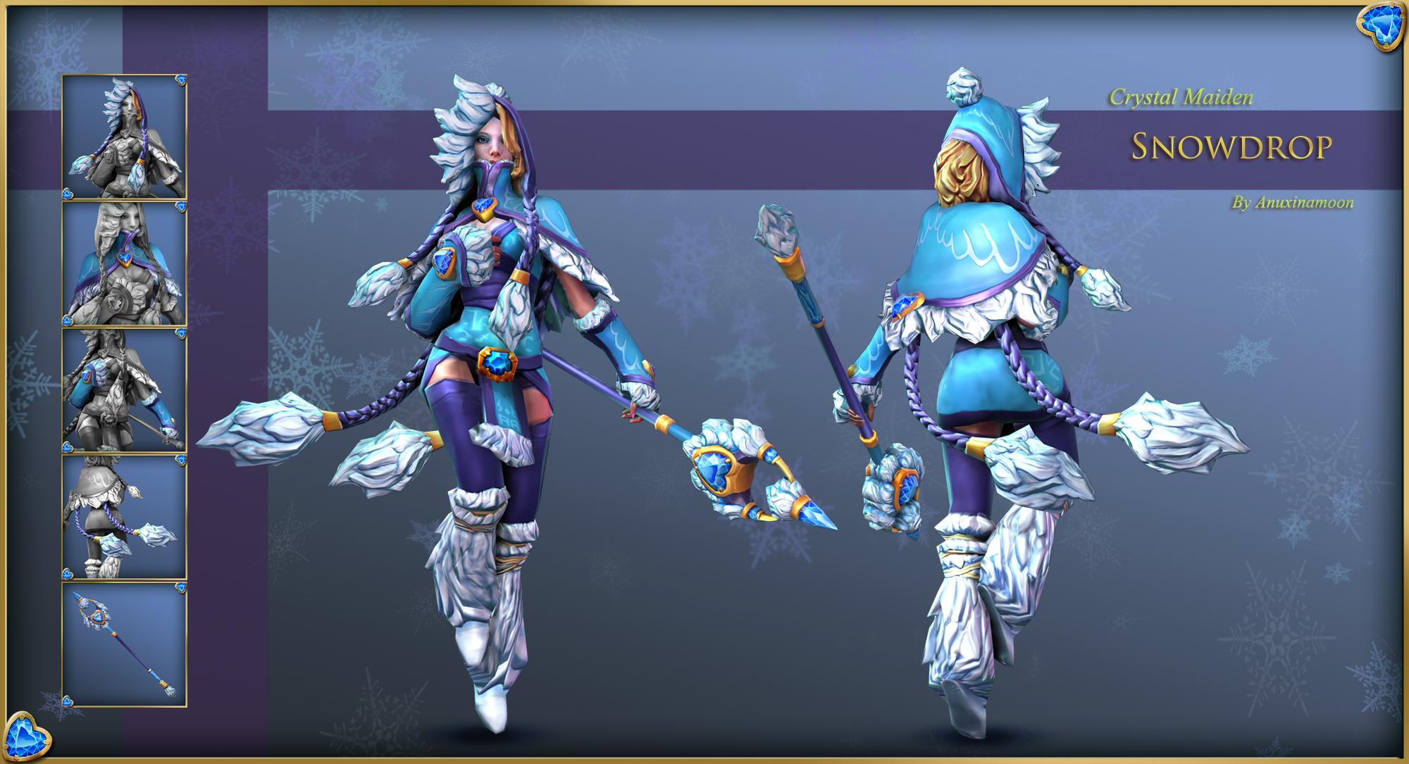 crystal maiden snowdrop