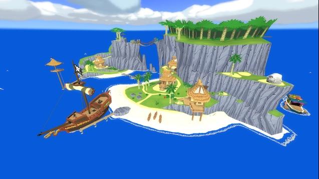 Zelda Wind Waker Karte.Steam Workshop Ttt Outset Island The Legend Of Zelda