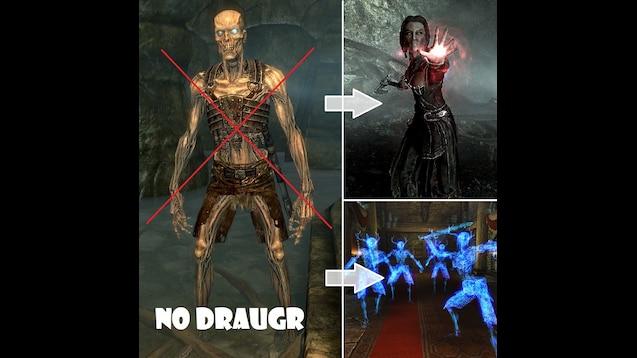 Steam Workshop :: Draugr Replacement Mod (Change Draugr)
