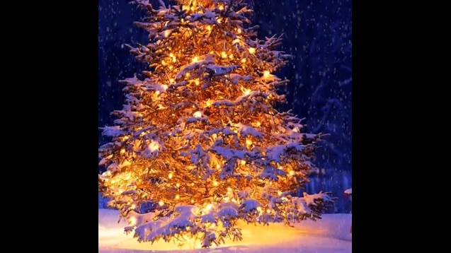 Snowing Christmas Lights.Steam Workshop Snowing Christmas Tree