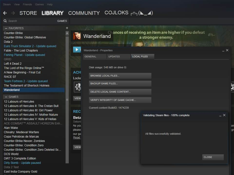 Steam Community :: :: All Files Checked with steam
