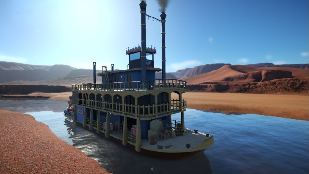 Steam Workshop Western Paddle Boat Steamer Mary Lou
