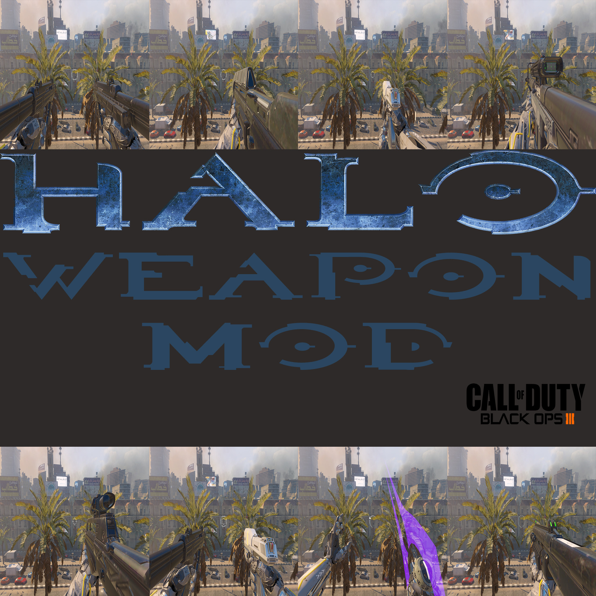 Release - Call of Duty: Black Ops 3 Mods | Halo Weapons Mod