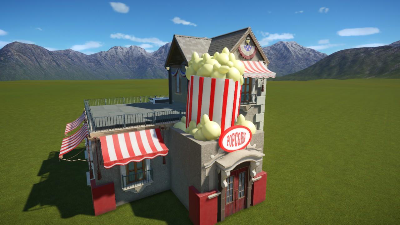 1950's Popcorn Shop
