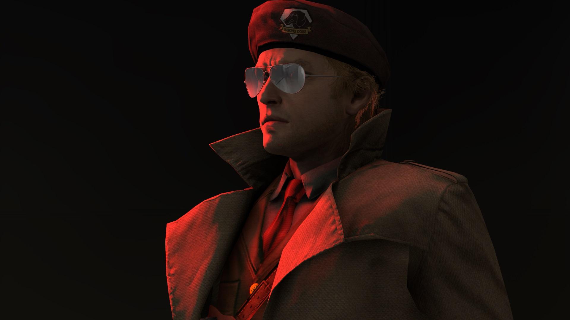 Steam Community Screenshot Sfm Kaz Miller He recognizes big boss but maybe sees him as a blur or not too well (it's dark after all). screenshot sfm kaz miller