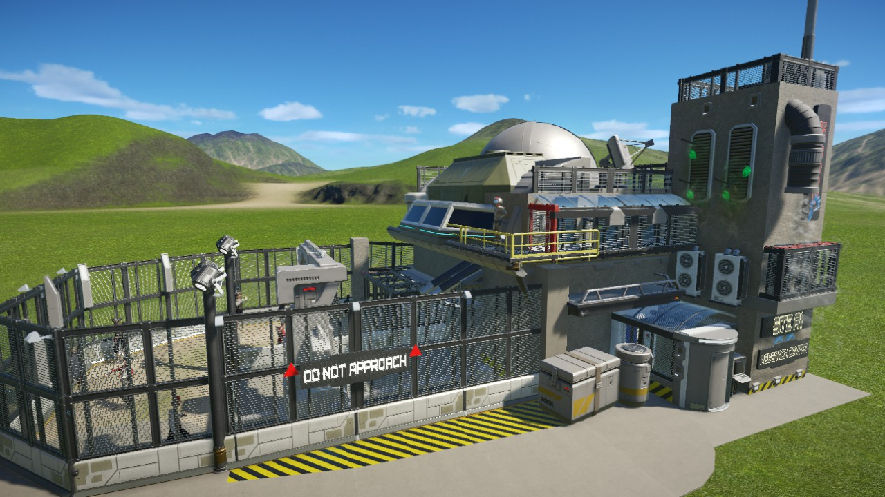 Sdanwolf's Zombie Research Lab