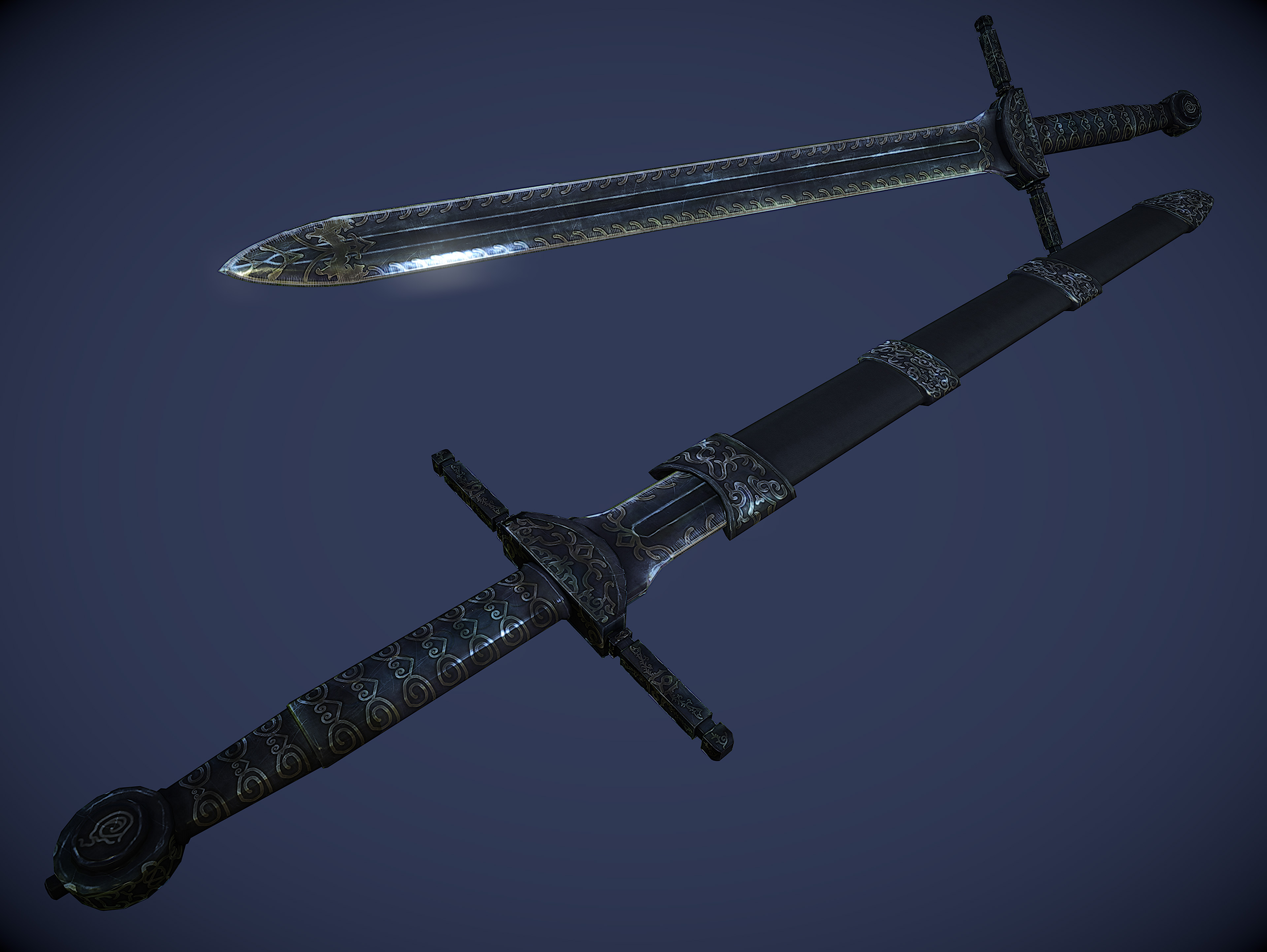 Steam Community :: Insanity's Ebony Sword Replacer :: Comments