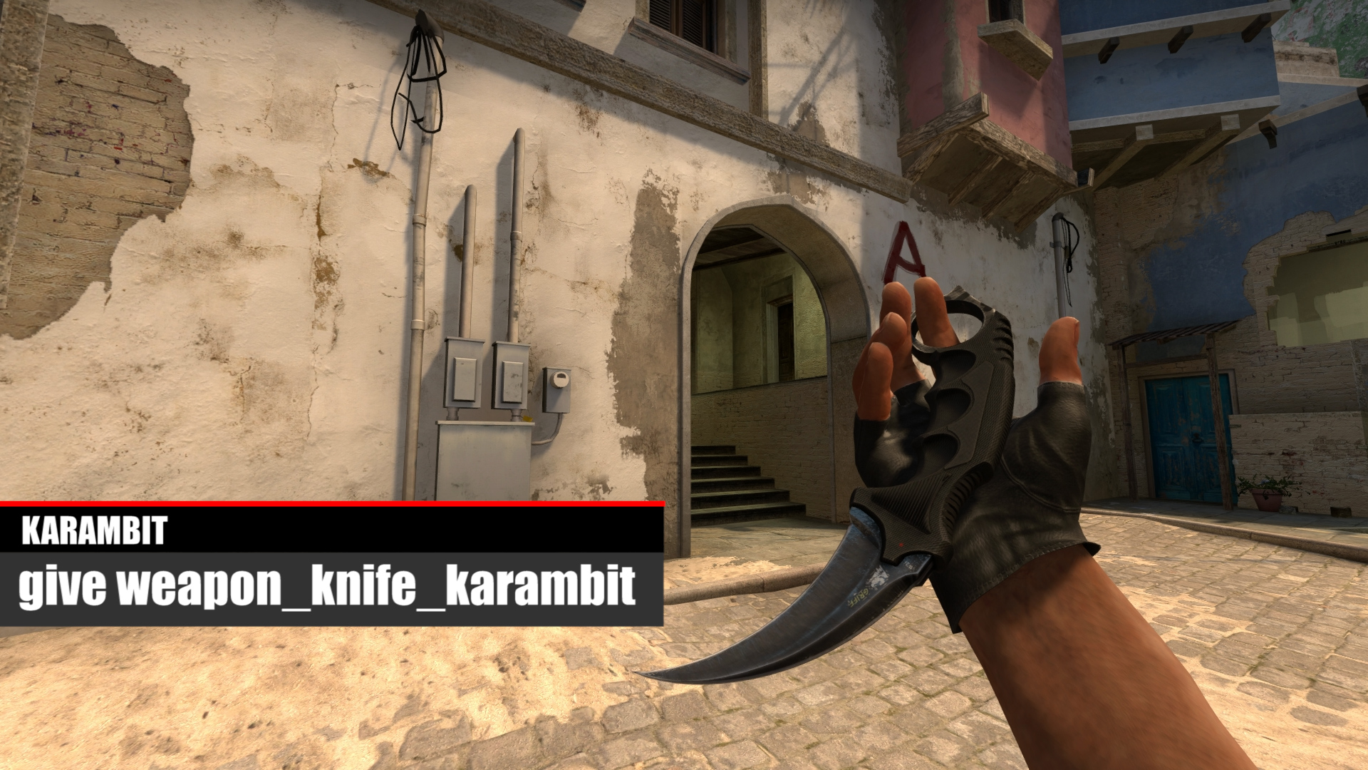 how to give yourself weapons in cs go