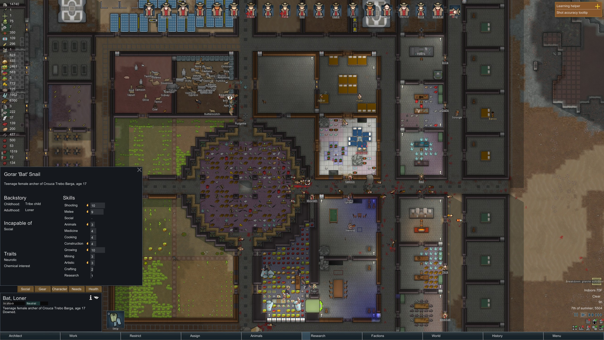 Bedroom Layout Rimworld