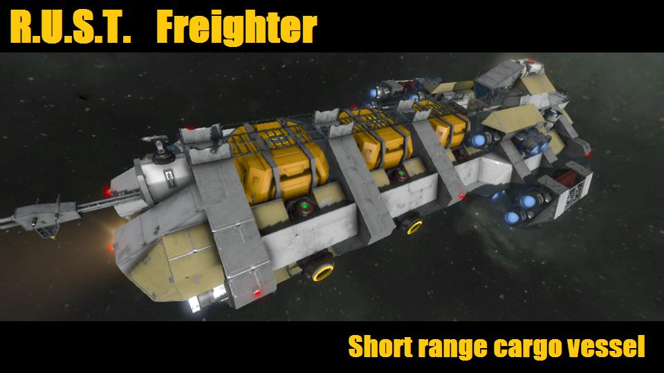Steam Workshop R U S T Freighter