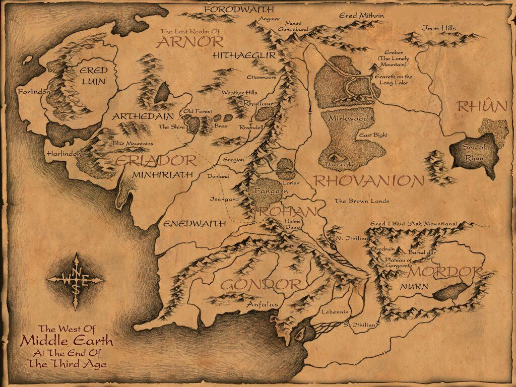 Middle Earth Map Large.Steam Workshop Middle Earth Large