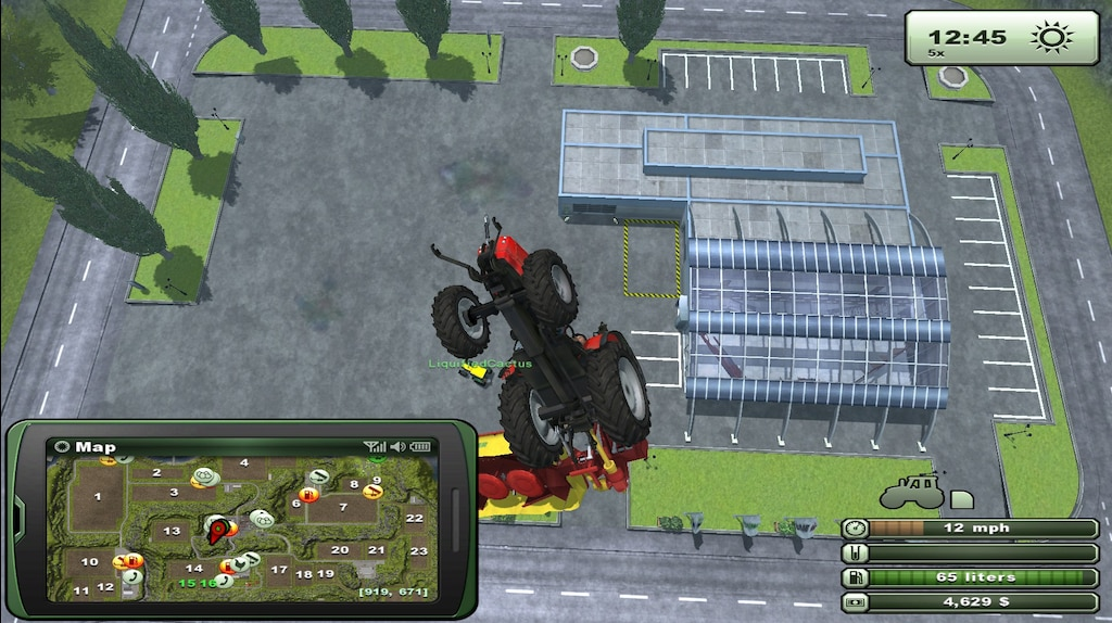 Steam Community :: Screenshot :: All new flying tractors in