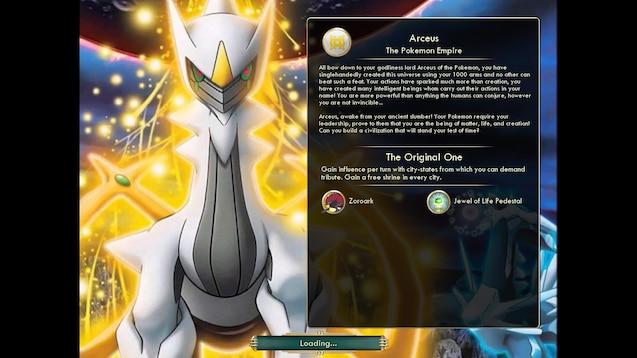 Steam Workshop Arceus Pokemon Empire