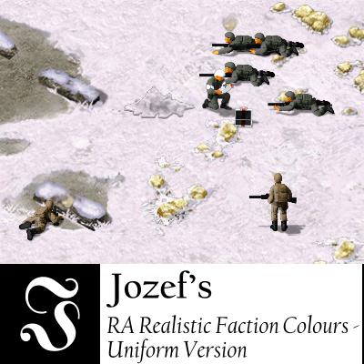 Jozef's RA Realistic Faction Colours - Uniform Version