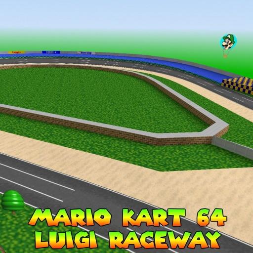 Steam Workshop Mario Kart 64 Luigi Raceway