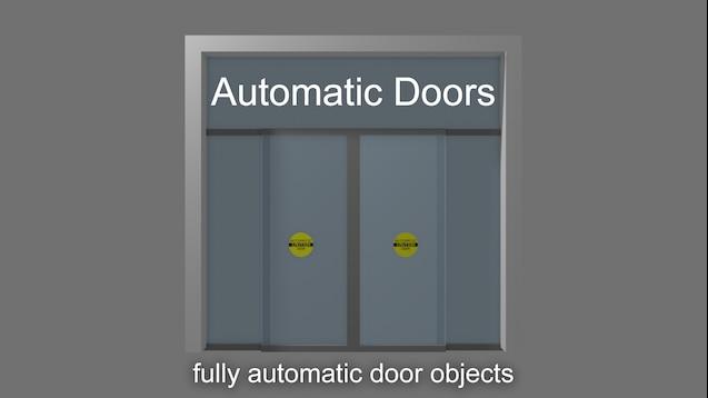 Steam Workshop Automatic Doors