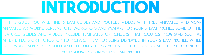 Steam Community Guide Collection Of Free Template Guides