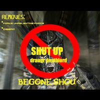 Skyrim Classic Draugr Deathlord shout nerf画像