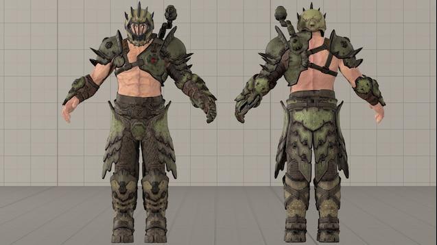Steam Workshop Doom Eternal Slayer Sentinel Version Ragdoll