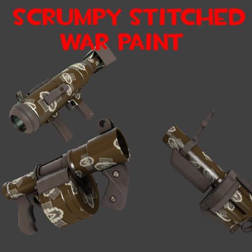 Scrumpy Stitched