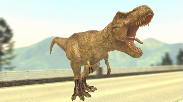 Gmod Dinosaur Mod