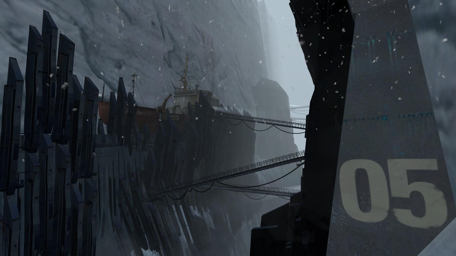 Fan Made Half Life 2 Episode 3 Background Based On Concept Art Halflife