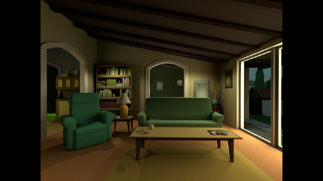 Steam Workshop Rick And Morty Living Room At Night