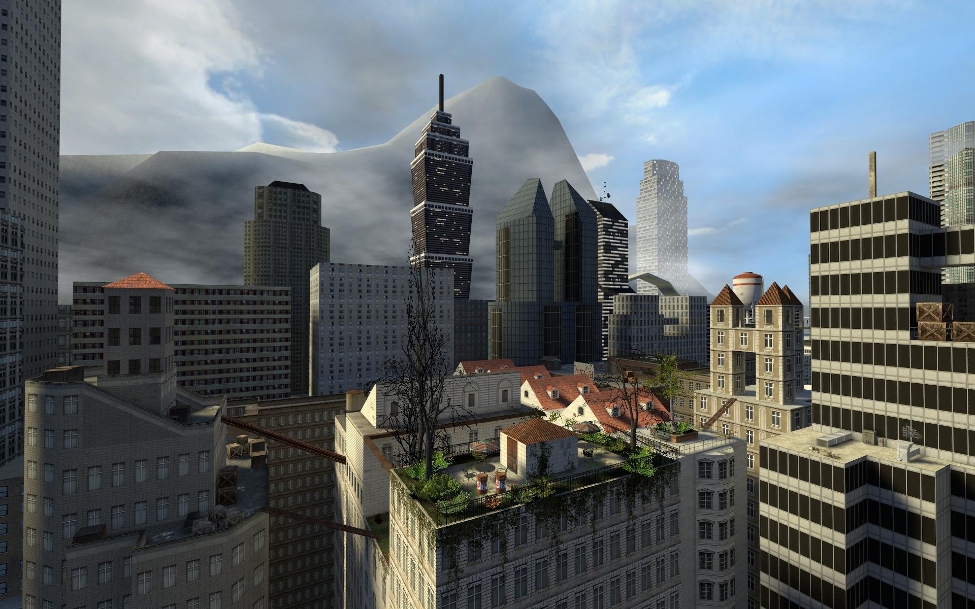 Гаррис мод 10 скачать карту город