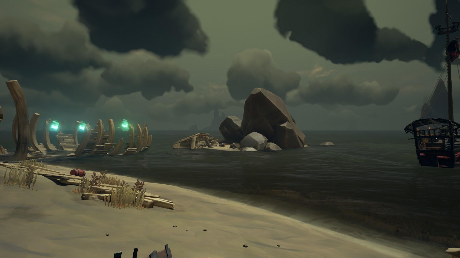 Прохождение истории Морская душа на100% в Sea of Thieves