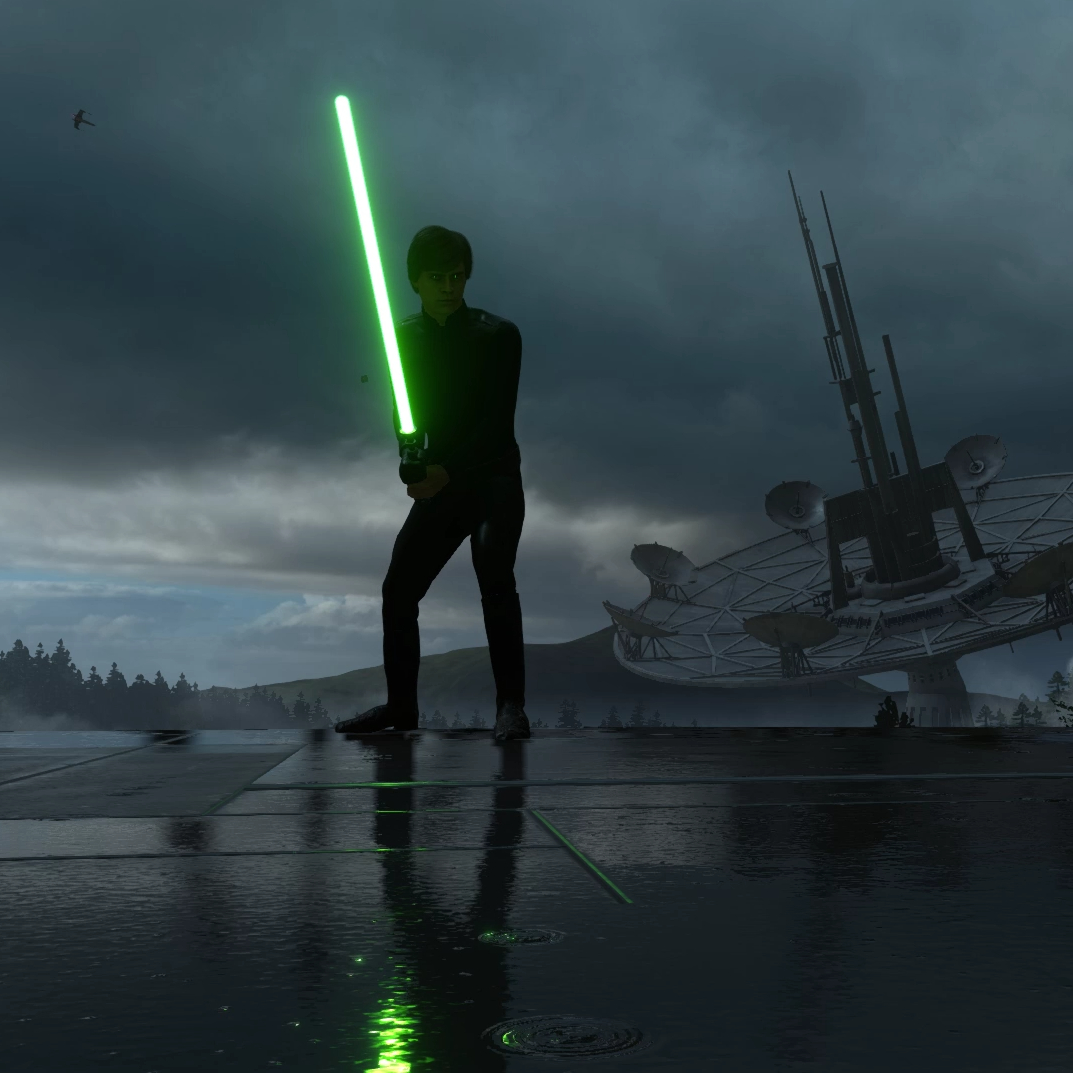 Steam Workshop Star Wars Battlefront Luke Skywalker Endor Rain Ultra Settings 1080p 60fps With Audio