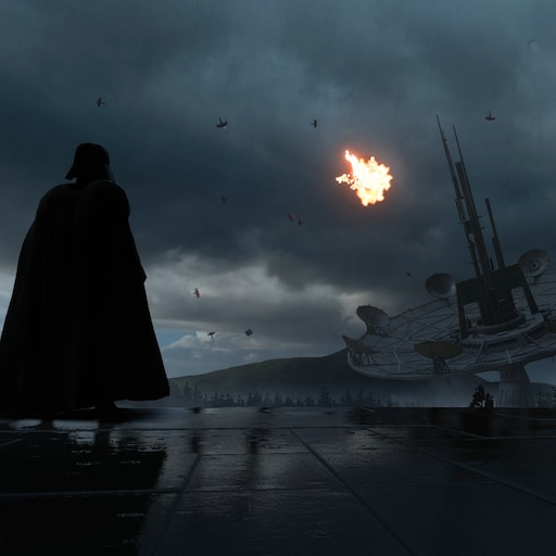 Steam Workshop Star Wars Battlefront Darth Vader Endor Rain 2 Ultra Settings 1080p 60fps With Audio