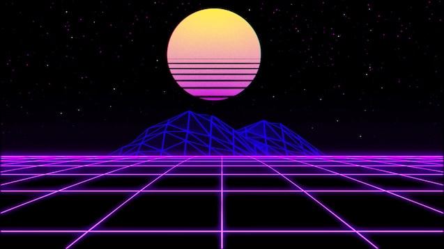 Steam Workshop Aesthetic 80 S Neon Grid
