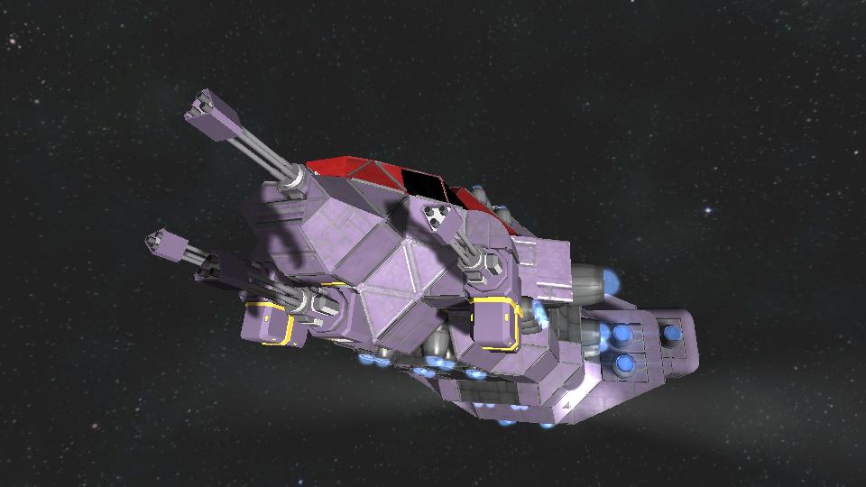 Small Ship with Interior Mk2