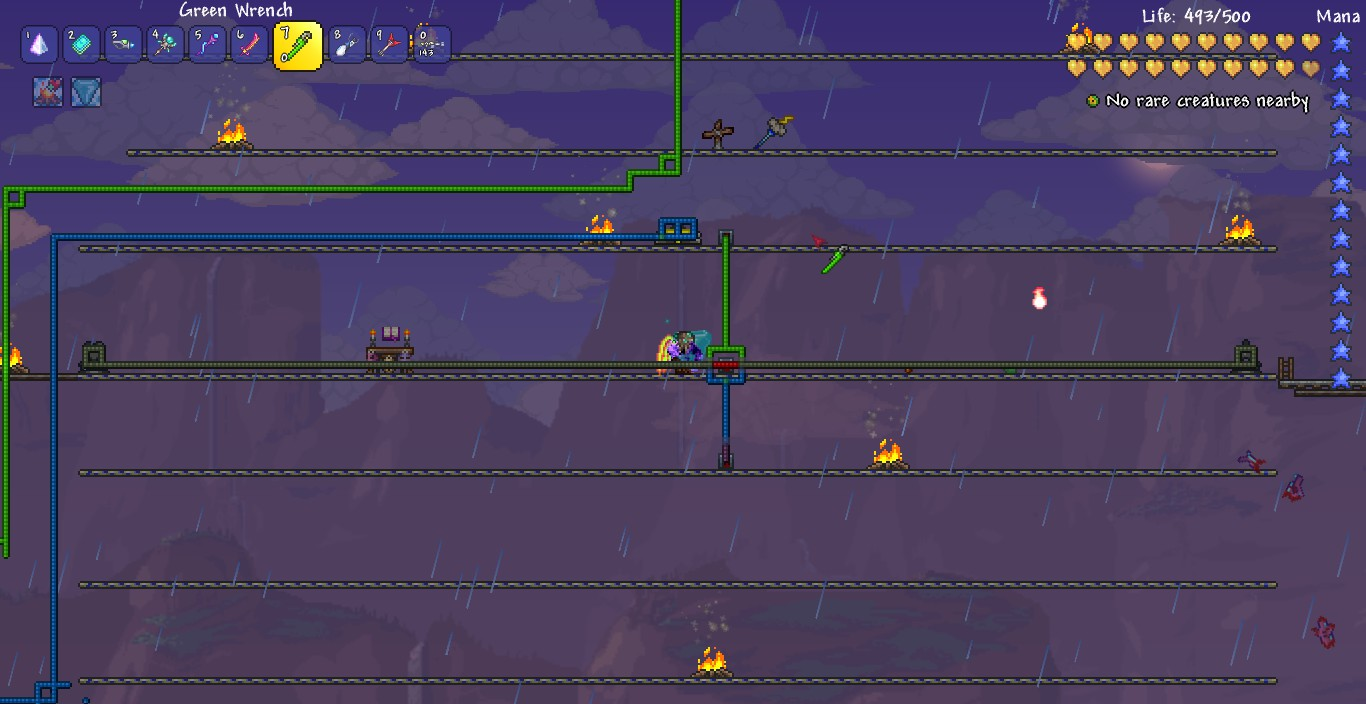 Steam Community Guide How To Cheese Moon Lord 1308 Terraria Wiring Ideas Blue And Green Wires