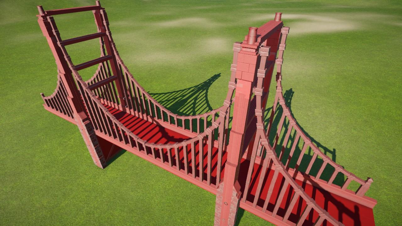 aritario's Golden Gate Bridge Replica