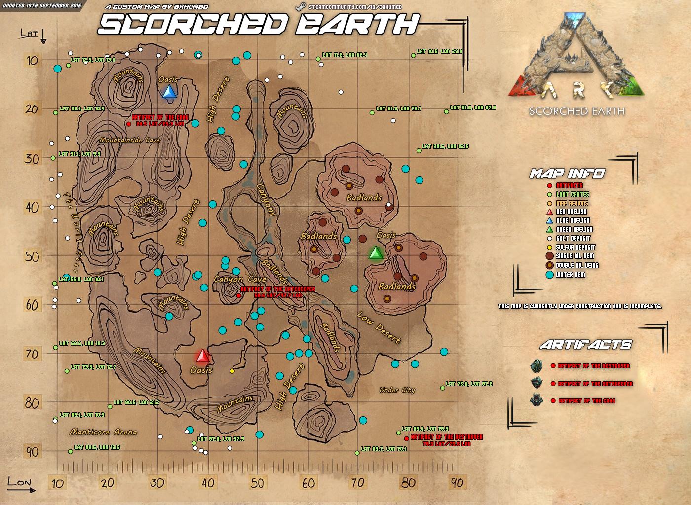 Ark Ragnarok öl Karte.Steam Community Guide Ark Survival Evolved Anfänger Guide V2 3