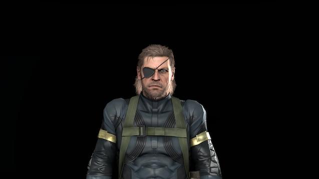 Steam Workshop Metal Gear Solid V Ground Zeroes Big Boss
