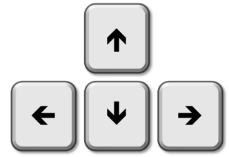 how to fix the arrow in the keyboard