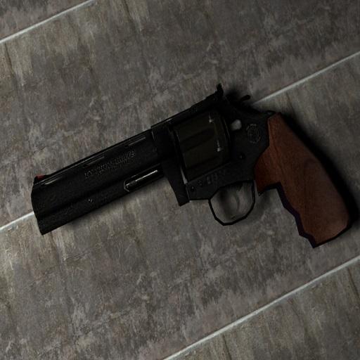 Black .357 Revolver Reskin