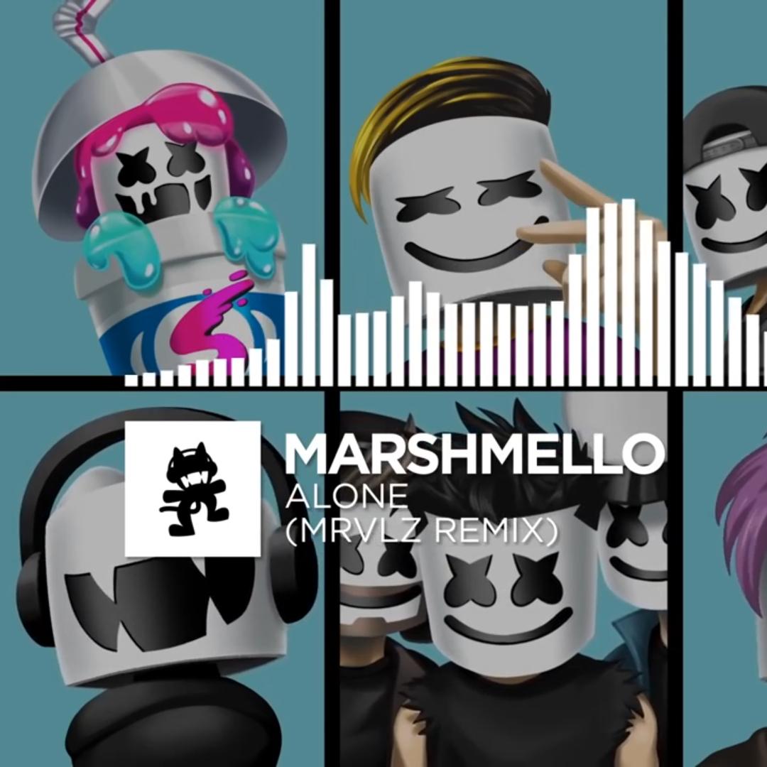 Marshmello Alone Mrvlz Remix Monstercat Ep Release Wallpaper