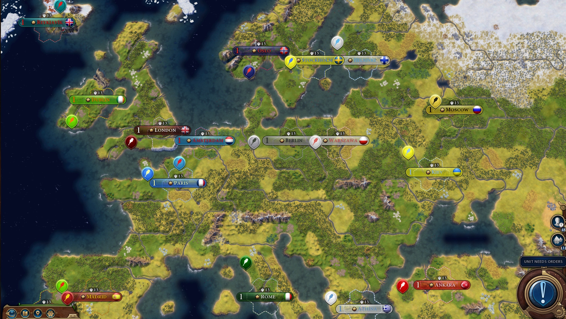Civ 6 Europe Map Steam Workshop::Yet (not) Another Maps Pack