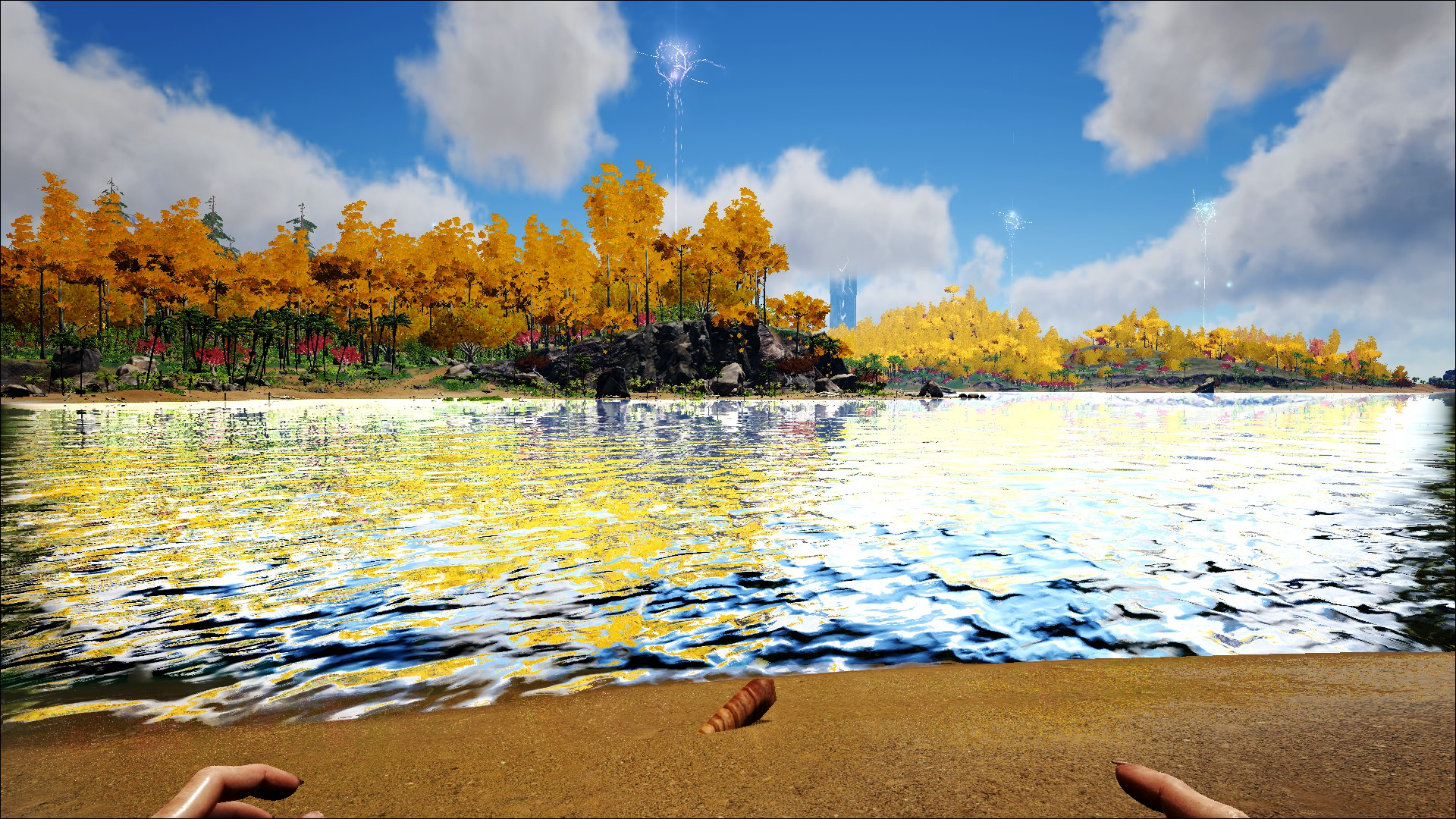 Image result for ark water reflections