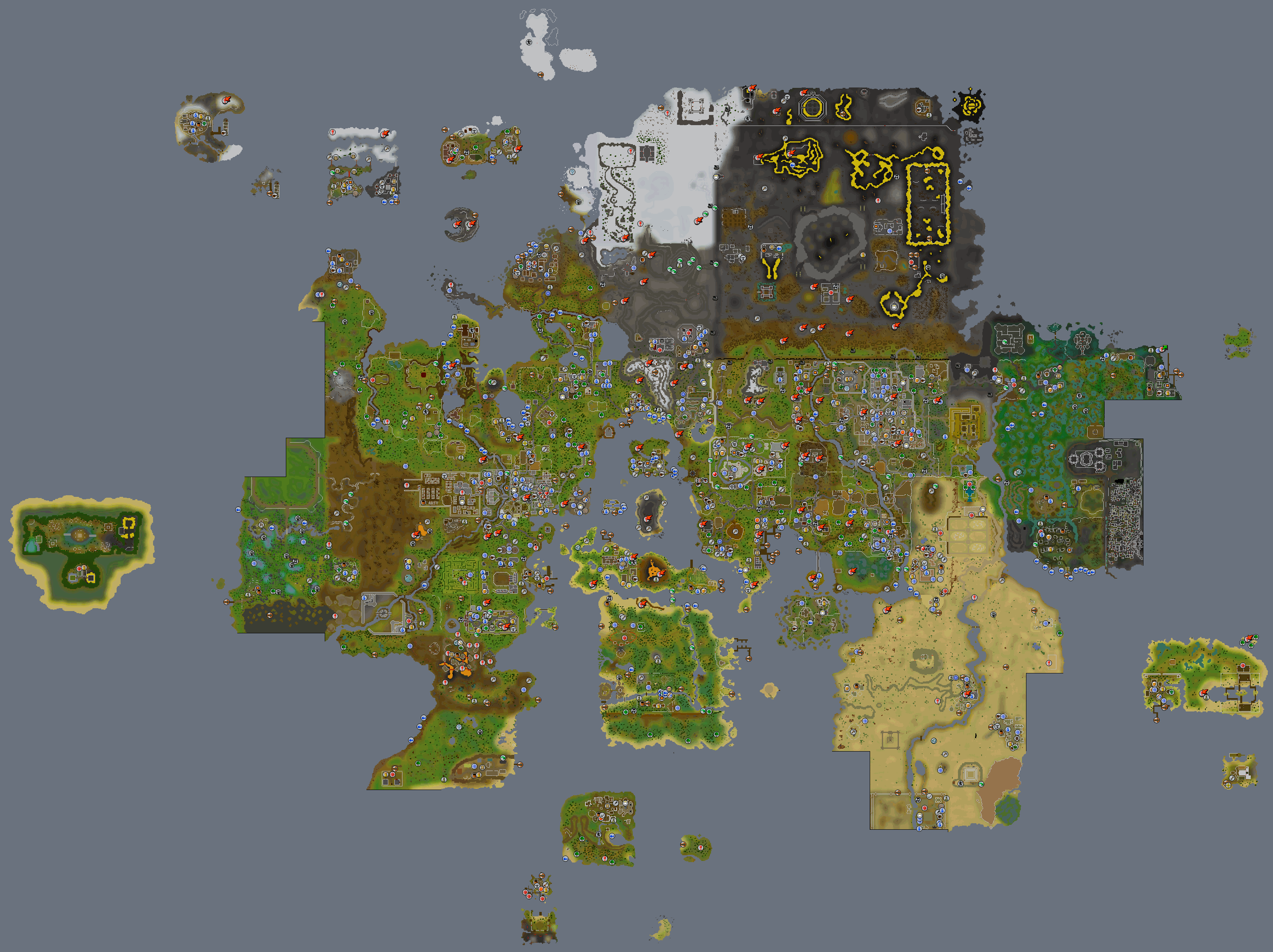 Steam Workshop :: Runescape World Map