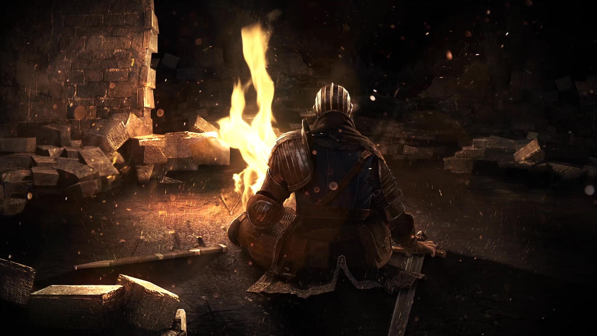 Dark Souls Under Fire Wallpaper Engine Free